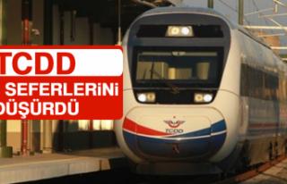TCDD Tren Seferlerini Düşürdü