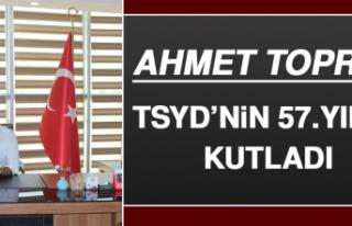 Ahmet Toprak, Tsyd'nin 57.Yılını Kutladı