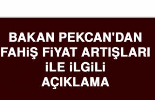 Bakan Pekcan'dan Fahiş Fiyat Artışları İle...
