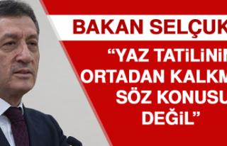 Bakan Selçuk'tan 'Telafi Eğitimi Düzenlemesi'...