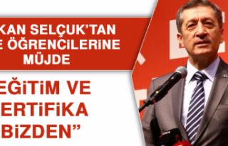 Bakan Selçuk'tan Lise Öğrencilerine Müjde: Eğitim...