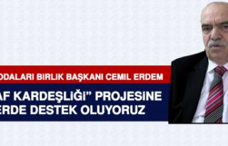 Başkan Erdem: 'Esnaf Kardeşliği' Projesine...