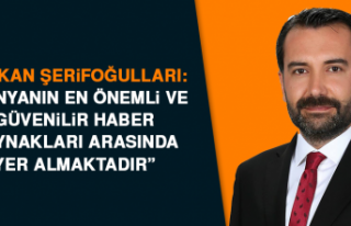 Başkan Şerifoğulları Anadolu Ajansının 100....