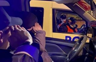 Bir günlüğüne polis olan down sendromlu Muhammet'ten...