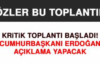 Cumhurbaşkanı Erdoğan Açıklama Yapacak
