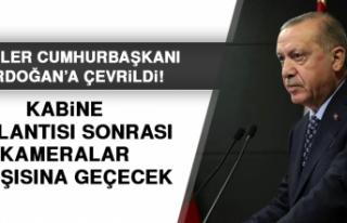 Cumhurbaşkanı Erdoğan Açıklamalarda Bulunacak