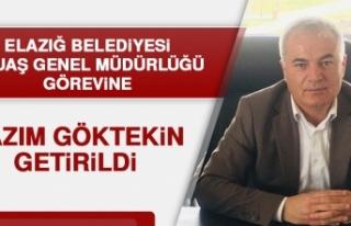 EBUAŞ Genel Müdürlüğü Görevine Nazım Göktekin...
