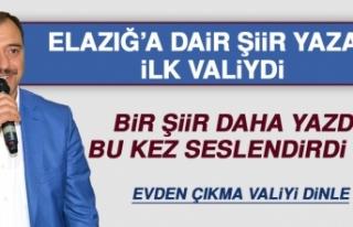 Elazığ Valisi Kaldırım, Elazığ'a Dair Şiir...