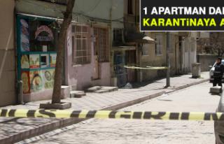 Elazığ'da 1 Apartman Daha Karantinaya Alındı