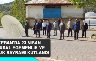 Keban'da 23 Nisan Ulusal Egemenlik ve Çocuk Bayramı...