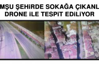 Komşu Şehirde Sokağa Çıkanlar Drone İle Tespit...