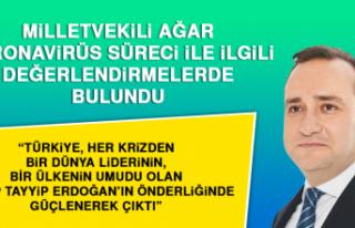 Milletvekili Ağar Koronavirüs Süreci İle İlgili...