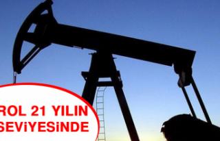 Petrol 21 Yılın Dip Seviyesinde