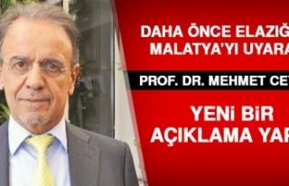 Prof. Dr. Mehmet Ceyhan Uyarılarda Bulundu
