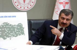 Sağlık Bakanı Koca: Türkiye'nin Vuhan'ı...