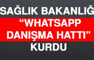 Sağlık Bakanlığı, 'WhatsApp Danışma Hattı'...