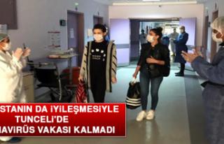 Son Hastanın da İyileşmesiyle Tunceli'de Koronavirüs...