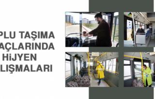 Toplu Taşıma Araçlarında Hijyen Çalışmaları