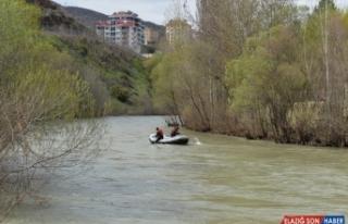 Tunceli'de Munzur Çayı'nda kaybolan uzman çavuşu...