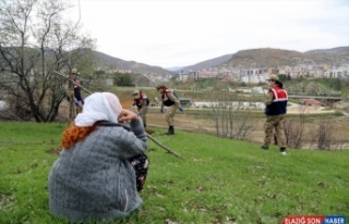 Tunceli'de Vefa Sosyal Destek Grubu'nun yaşlılar...