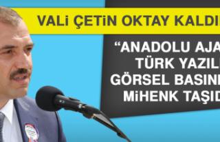 Vali Kaldırım: Anadolu Ajansı Türk Yazılı ve...