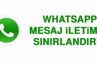 WhatsApp, Mesaj İletimini Sınırlandırdı