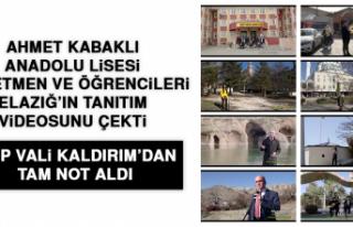 Elazığ'da Öğretmen ve Öğrencileri Elazığ'ın...
