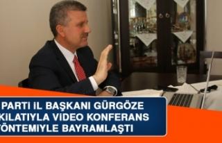 AK Parti İl Başkanı Gürgöze, Teşkilatıyla Video...