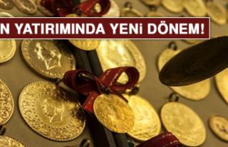 Altın yatırımında yeni dönem!