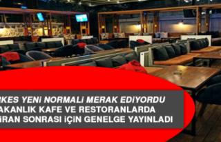 Bakanlık Kafe ve Restoranlarda 1 Haziran Sonrası...