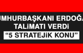 Cumhurbaşkanı Erdoğan Talimatı Verdi: 5 Stratejik...