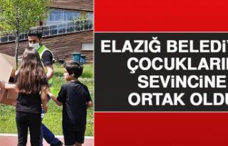 Elazığ Belediyesi Çocukların Sevincine Ortak Oldu