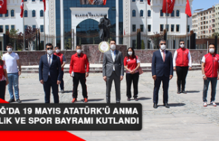 Elazığ'da 19 Mayıs Atatürk'ü Anma,...