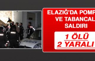 Elazığ'da Pompalı ve Tabancalı Saldırı:...