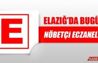 Elazığ'da 31 Mayıs'ta Nöbetçi Eczaneler
