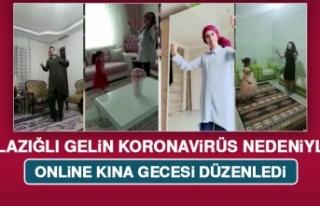 Elazığlı Kübra Gelin Koronavirüs Nedeniyle Online...