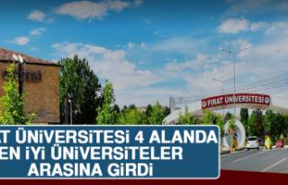 Fırat Üniversitesi 4 Alanda En İyi Üniversiteler...