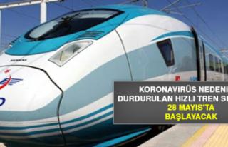 Hızlı Tren Seferleri 28 Mayıs'ta Başlayacak