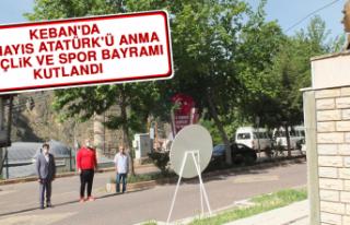 Keban'da 19 Mayıs Atatürk'ü Anma, Gençlik...