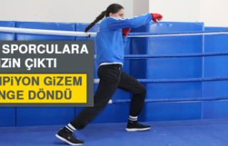Milli Sporculara İzin Çıktı, Şampiyon Gizem Ringe...
