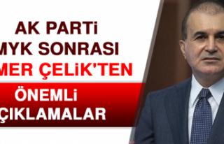 AK Parti MYK Sonrası Ömer Çelik'ten Önemli...
