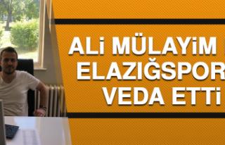 Ali Mülayim De Elazığspor'a Veda Etti