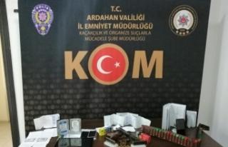 Ardahan'daki tefecilik operasyonunda 3 kişi gözaltına...