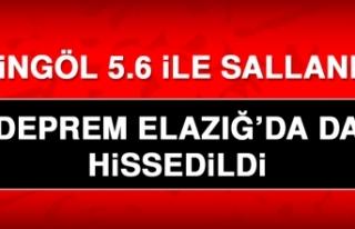 Bingöl'de 5.6 Büyüklüğünde Deprem! Elazığ'da...