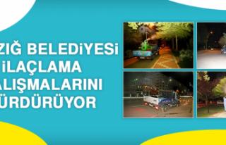 Elazığ Belediyesi İlaçlama Çalışmalarını...