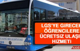 Elazığ Belediyesi'nden LGS'ye Girecek Öğrencilere...