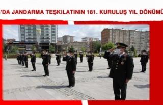 Elazığ'da Jandarma Teşkilatının 181. Kuruluş...