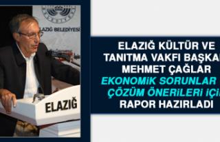 Elazığ Kültür ve Tanıtma Vakfı Ekonomik Sorunlar...