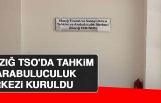 Elazığ TSO'da Tahkim ve Arabuluculuk Merkezi...