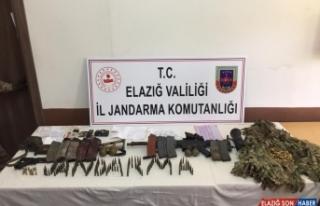 Elazığ'da 2 teröristin etkisiz hale getirildiği...